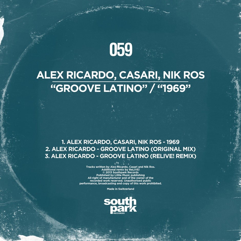Southpark Records 059 - Cover
