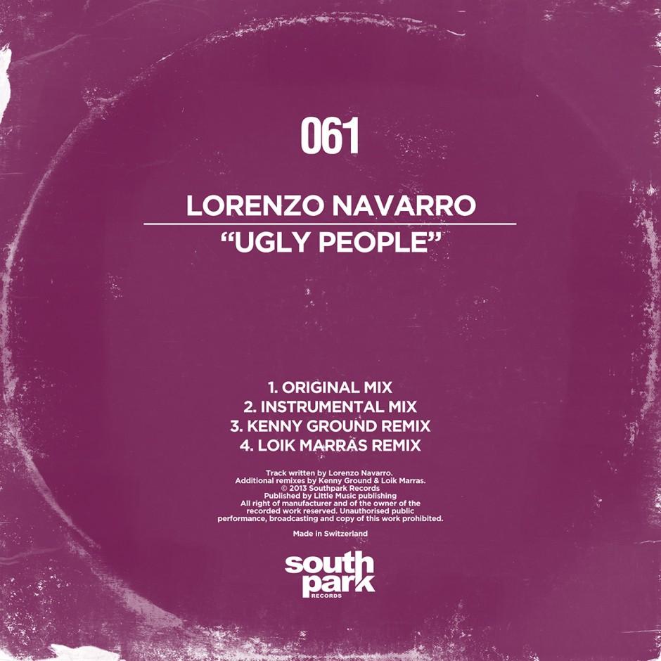 Southpark Records 061 - Cover
