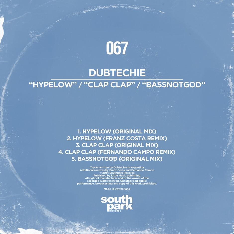Southpark Records 067 - Cover - Copia