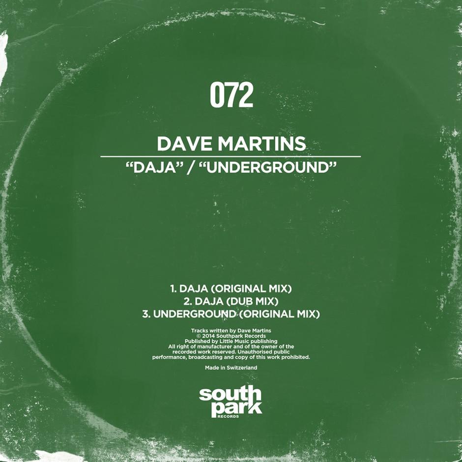 Southpark Records 072 - Cover