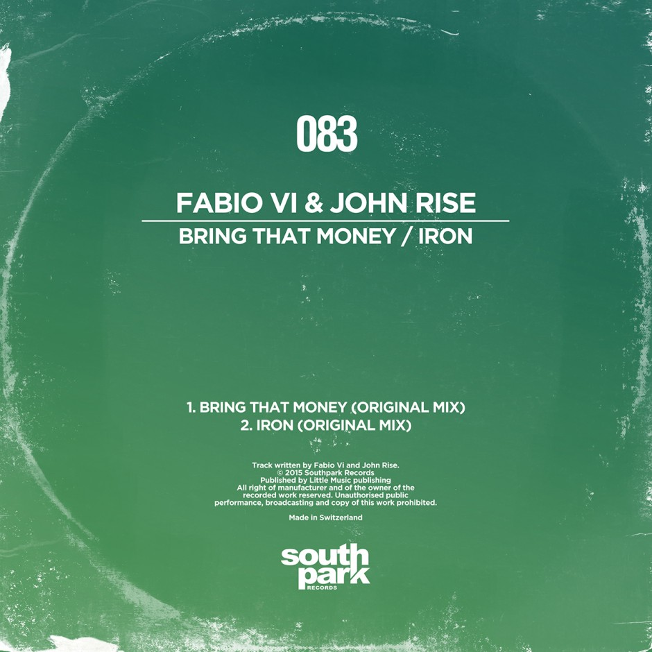 Southpark Records 083 - Cover