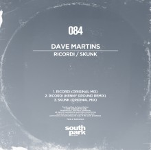 Southpark Records 084 - Cover