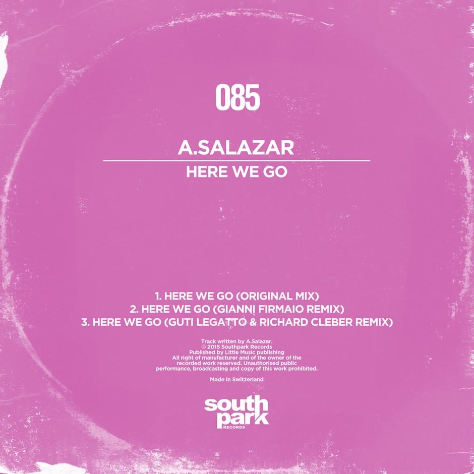 Southpark Records 085 - Cover