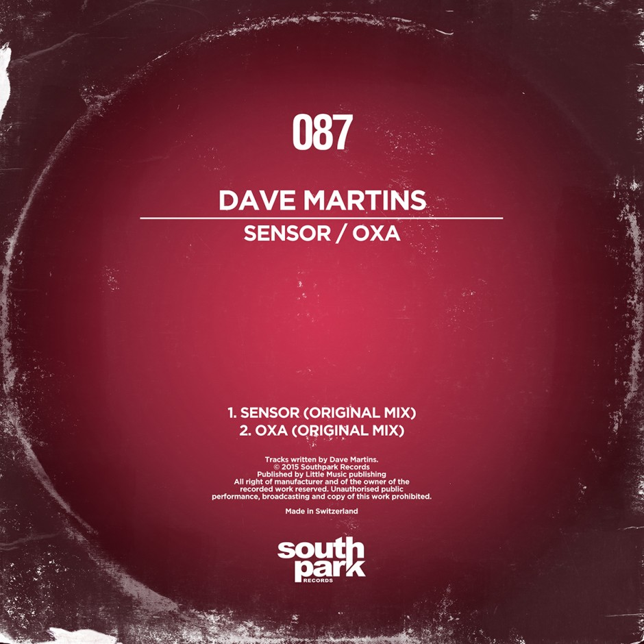 Southpark Records 087 - Cover