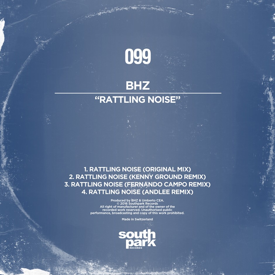 Southpark Records 099 - Cover